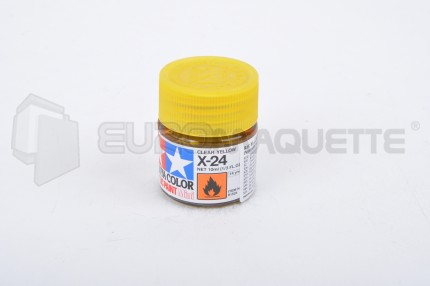 Tamiya - Vernis Jaune X-24 (pot 10ml)
