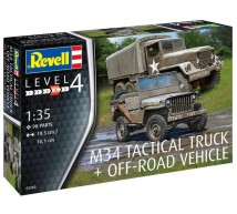 Revell - US Jeep & M34 truck 1/32