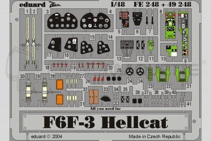 Eduard - F6F-3 Hellcat (hasegawa)