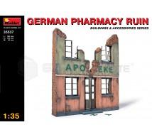 Miniart - Ruine de Pharmacie