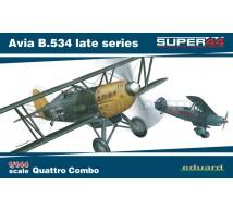 Eduard - Quattro Combo Avia B-534 Late