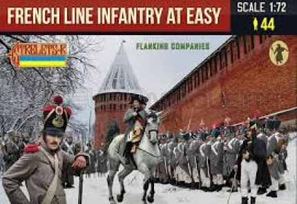 Strelets - French line infantry at easy