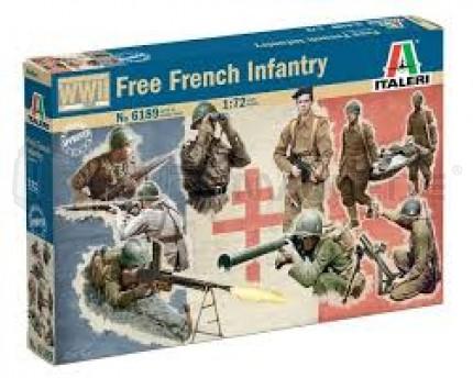 Italeri - Français FFL WWII