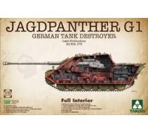 Takom - Jagdpanther G1 & interieur
