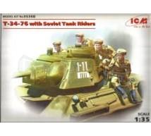 Icm - T-34/76 & tank riders