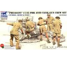 Bronco - 17 Pdr Desert gun crew