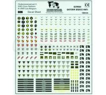 Verlinden - Insignes Uniformes ALL.