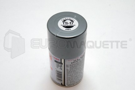Tamiya - Aluminium Vernis TS-17 (bombe 100ml)