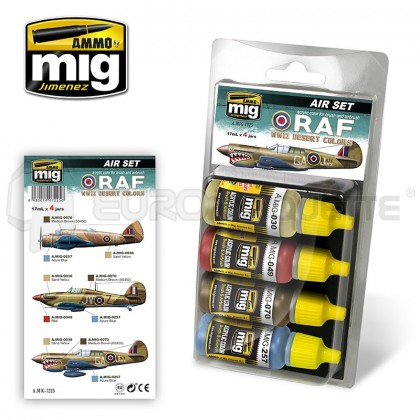 Mig products - Coffret WWII RAF Desert colors
