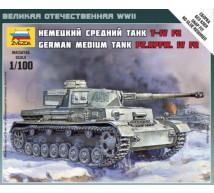 Zvezda - Pz IV Ausf F2 1/100