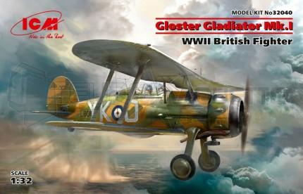 Icm - Gloster Gladiator Mk I & Belgian AF decals
