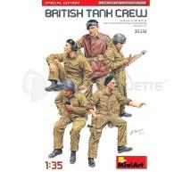 Miniart - British tank crew WWII