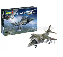 Revell - Coffret Harrier Gr1 50 years