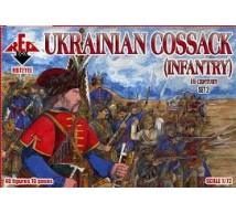 Red box - Ukrainian Cossack infantry