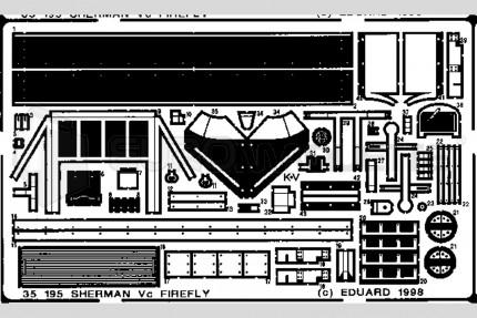 Eduard - Sherman Firefly Vc (dragon)