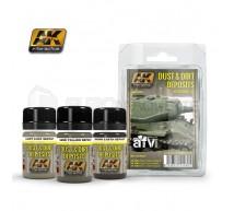Ak interactive - Coffret dust & dirt deposits