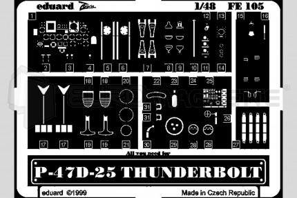Eduard - P-47 D Thunderbolt (academy)