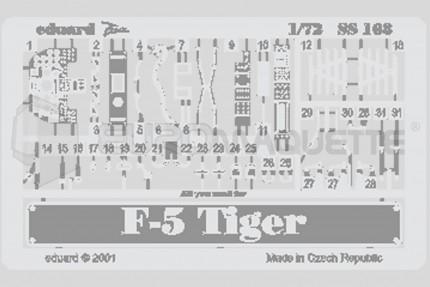 Eduard - F5 E Tiger  (italeri)