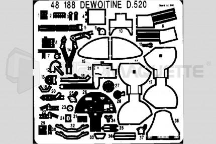 Eduard - Dewoitine D-520 (tamiya)