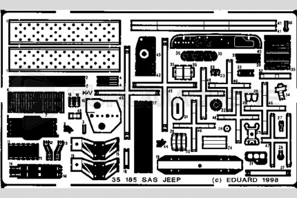 Eduard - Jeep SAS (tamiya)