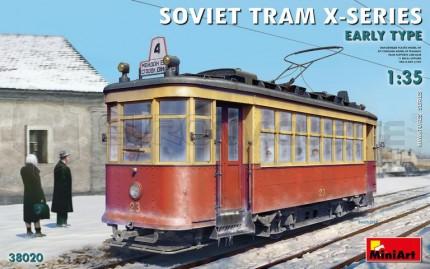 Miniart - Soviet Tram X Serie Early