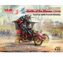 Icm - Bataille de la Marne 1914 (Taxi & figurines)