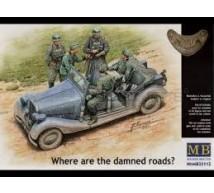 Master Box - German car & soldiers