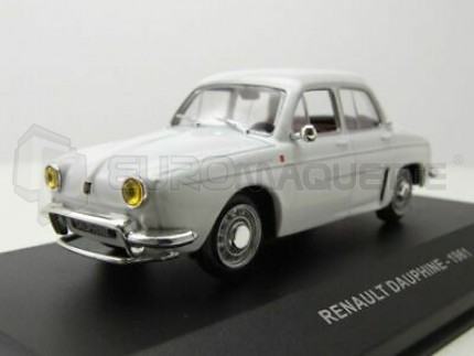 Solido - Renault Dauphine 1961 Blanche
