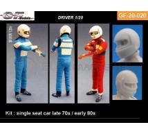 Gf Models - Pilote F1 70/80