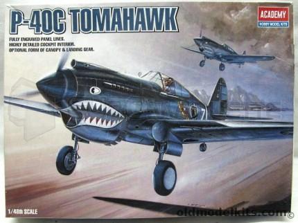 Academy - P-40C Tomahawk
