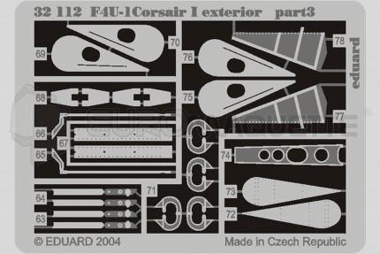 Eduard - F4U-1 Corsair (trumpeter)