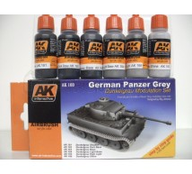 Ak interactive - Coffret German Panzer grey