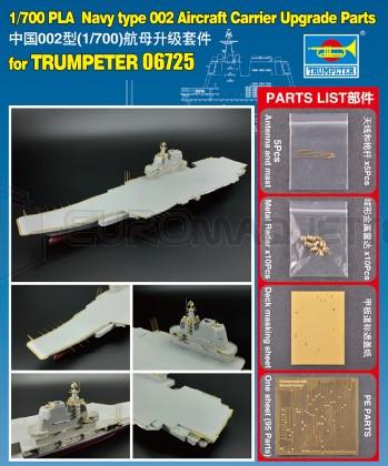 Trumpeter - PLA Aircraft carrier detail set (Trumpeter 06725)