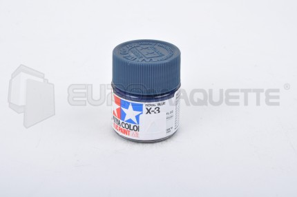 Tamiya - Bleu Royal X-3 (pot 10ml)