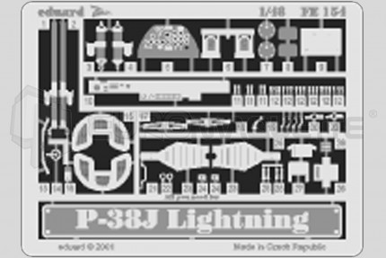 Eduard - P-38J Lightning (hasegawa)