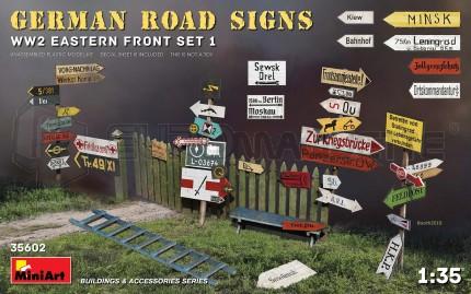 Miniart - German road signs