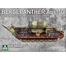 Takom - Bergepanther Ausf G & interior