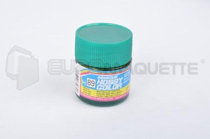 Gunze Sangyo - Vert Métallique H89 (pot 10ml)