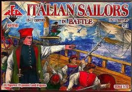 Red box - Italian sailors 16/17e S (set 3)