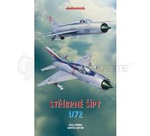 Eduard - Mig-21 duazl combo Stribrne Sipy & book (LE)