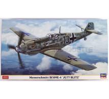 Hasegawa - Bf-109E-4 JG-77 Blitz