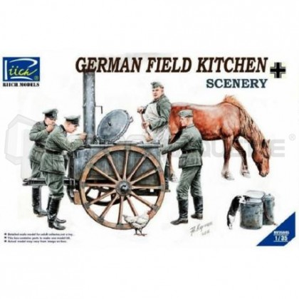Riich models - German Field kitchen WWII