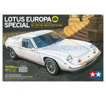 Tamiya - Lotus Europa Special & photo decoupe