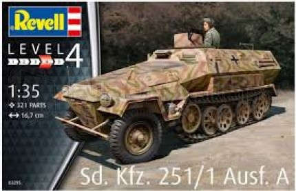 Revell - SdKfz 251 Ausf A
