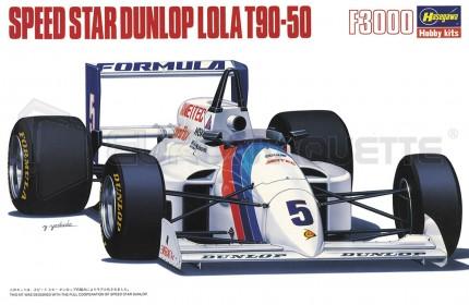 Hasegawa - Lola T90-50 F3000 Speed Star Dunlop