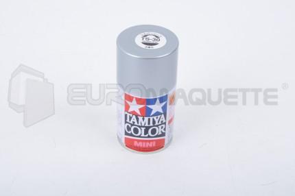 Tamiya - Argent Brillant TS-30 (bombe 100ml)