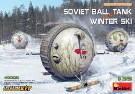 Miniart - Ball tank & winter ski