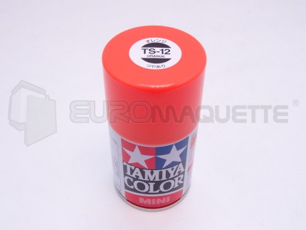 Tamiya - Orange Brillant TS-12 (bombe 100ml)