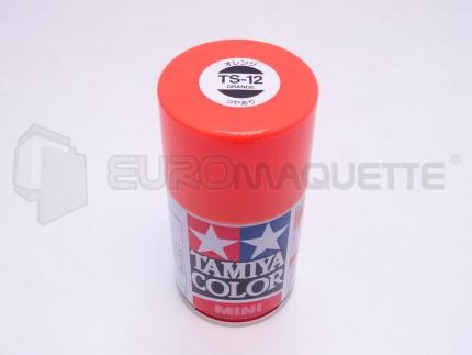 Tamiya - Orange Brillant TS-12 (bombe 100ml)