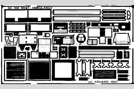 Eduard - Hummer Ambulance (academy)